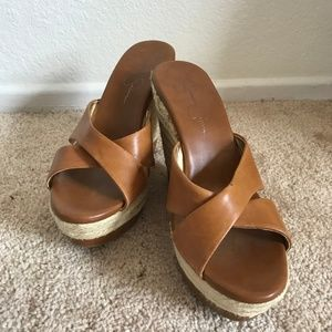 Jessica Simpson wedge sandle 8M
